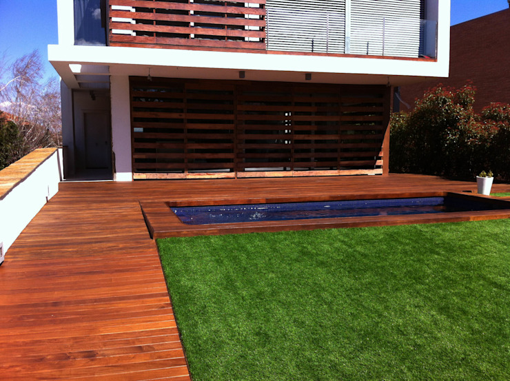 Modern style gardens by Quercus Jardiners Modern