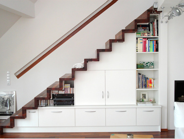 Badezimmer Modern Corridor, Hallway and Staircase by creativ-moebelwerkstaetten.de Modern