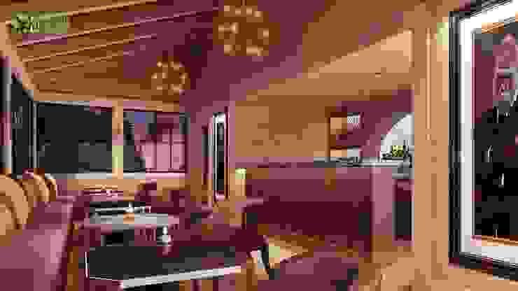 Interior Design Rendering For Commercial Bar: modern  by Yantram Architectural Design Studio, Modern