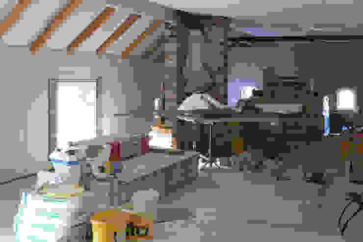 Während des Umbaus von Büro Köthe Landhaus