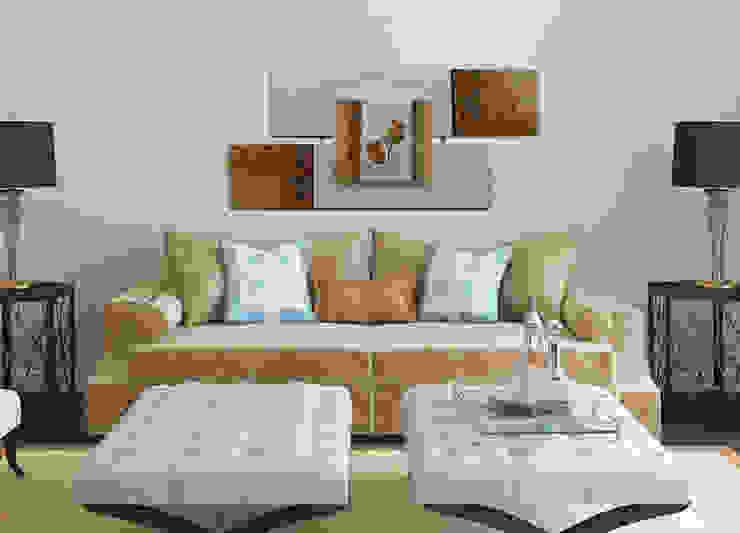 Projeto Salas de estar modernas por AtelierValverde Moderno