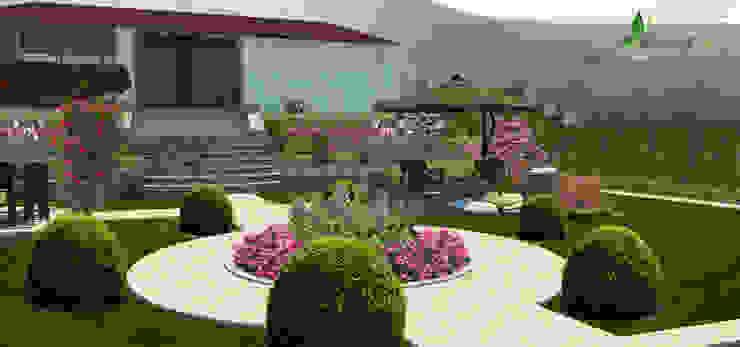 Jardines de estilo mediterráneo de konseptDE Peyzaj Fidancılık Tic. Ltd. Şti. Mediterráneo Piedra