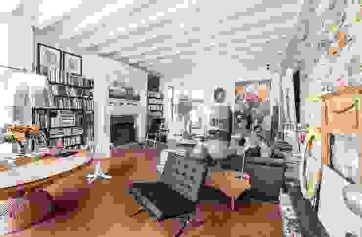 Salon de style  par Studio Maggiore Architettura, Colonial