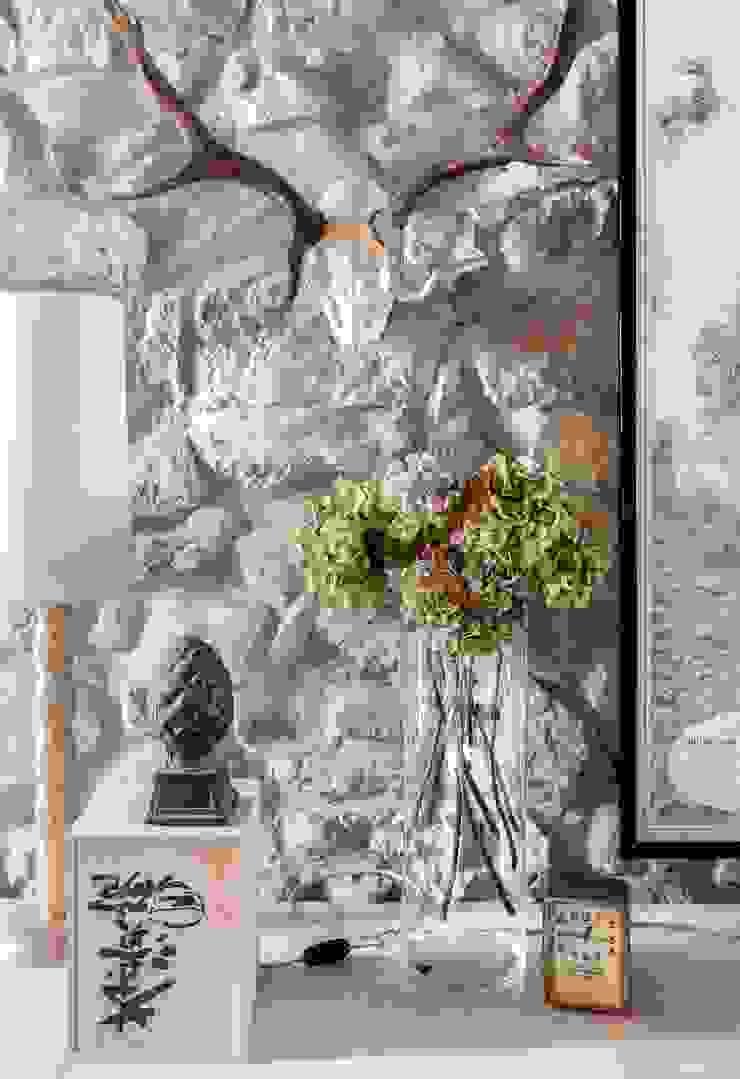 Residenza di campagna Soggiorno classico di Studio Maggiore Architettura Classico