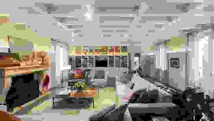 Interior Design e Progettazione | Villa I Gelsi Soggiorno classico di Studio Maggiore Architettura Classico