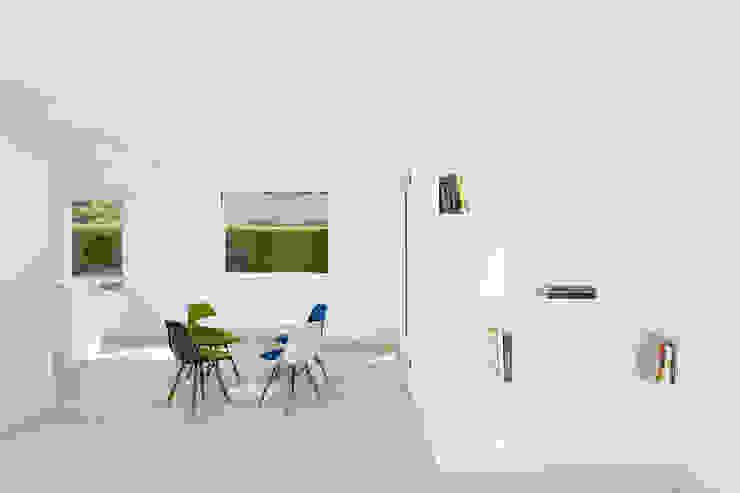 Transformation Maison R Salle à manger moderne par 2b architectes Moderne