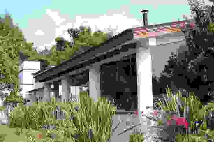 Projekty,  Domy zaprojektowane przez De Ovando Arquitectos, Kolonialny