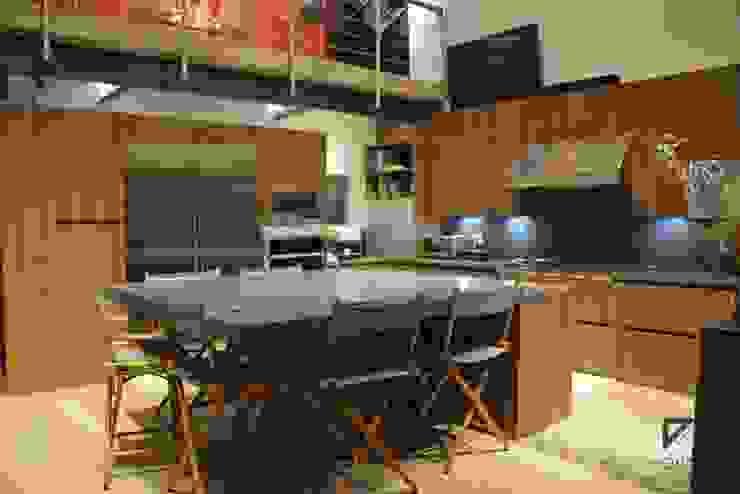 Pent House in Polanco Mexico City Comedores modernos de De Ovando Arquitectos Moderno