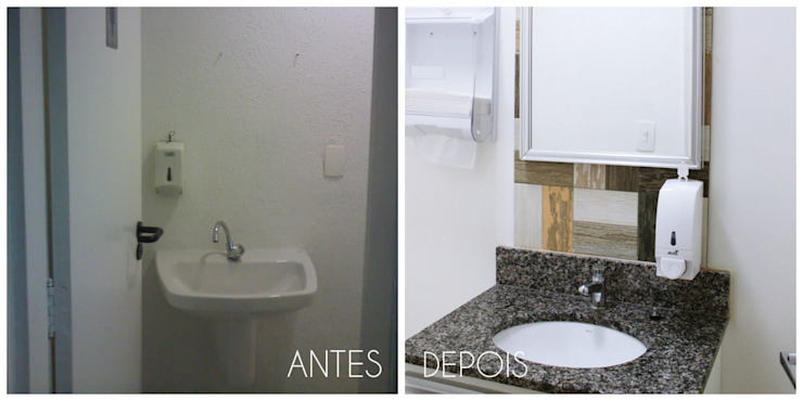 É! Arquitetura e Design Commercial Spaces Granite Grey
