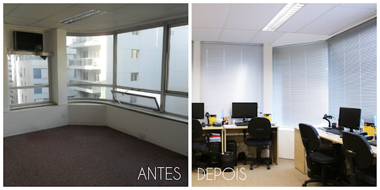 É! Arquitetura e Design Commercial Spaces MDF Beige