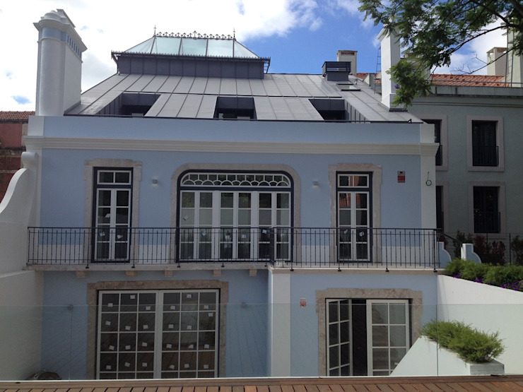 Alçado Tardoz Casas clássicas por Belgas Constrói Lda Clássico