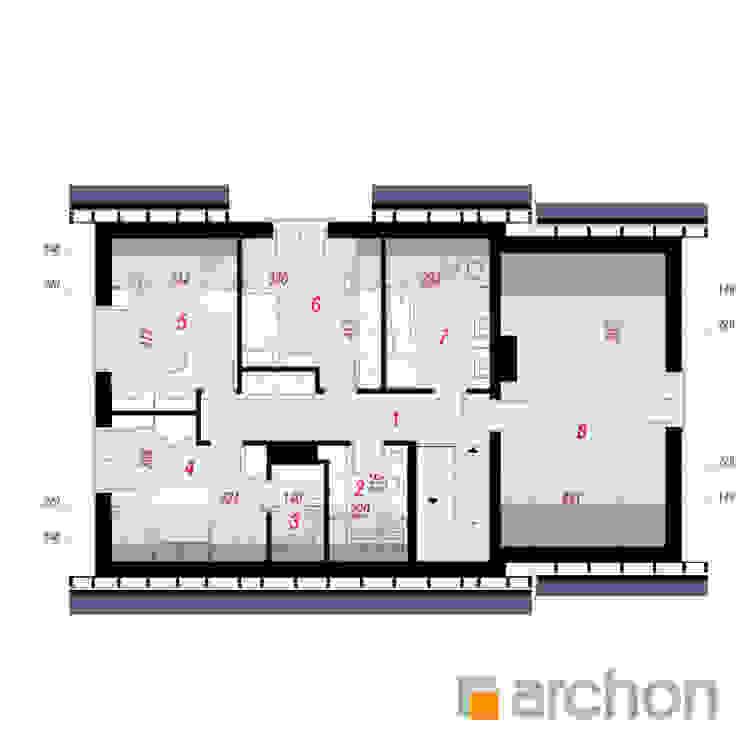 Projekt: Dom w srebrzykach od ARCHON+ PROJEKTY DOMÓW