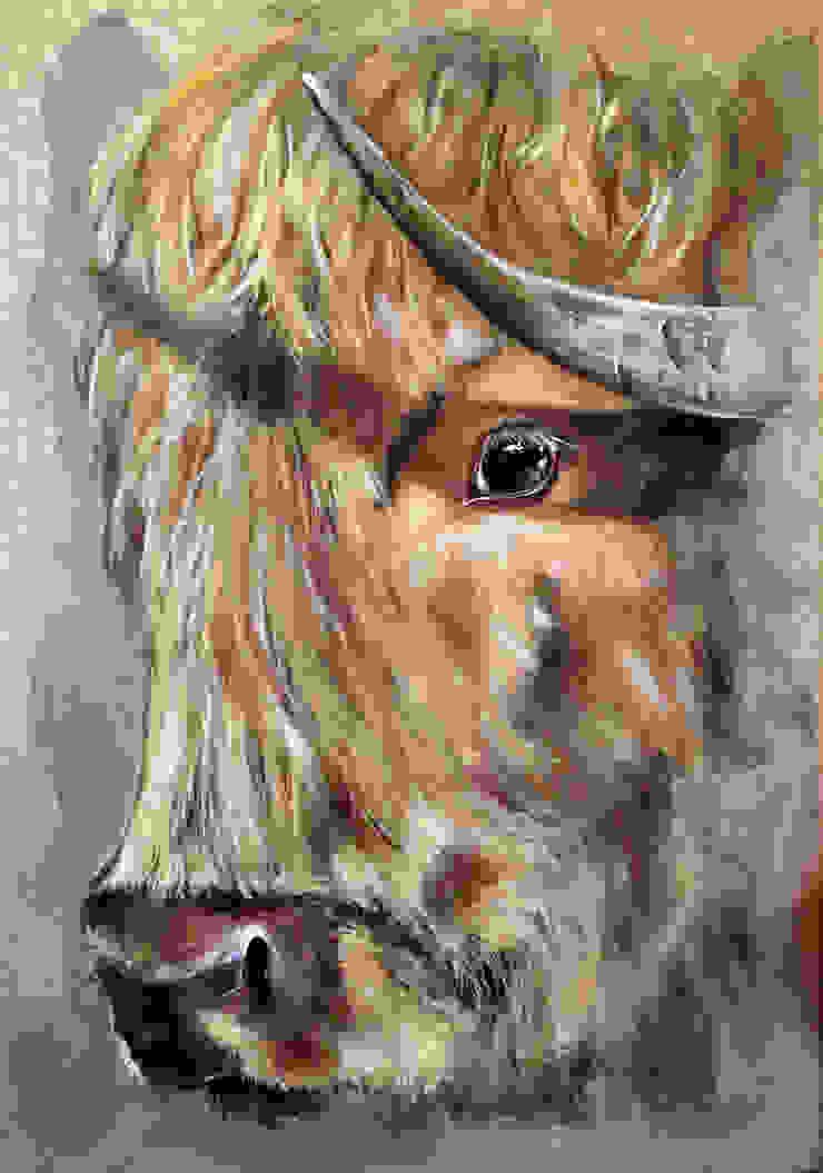 Odile Laresche Artiste Peintre Animalier 客廳配件與裝飾品