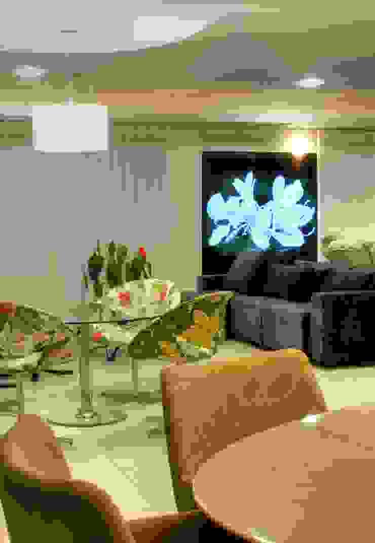 PROJ. ARQ. DENISE NERVO Salas de estar modernas por BRAESCHER FOTOGRAFIA Moderno
