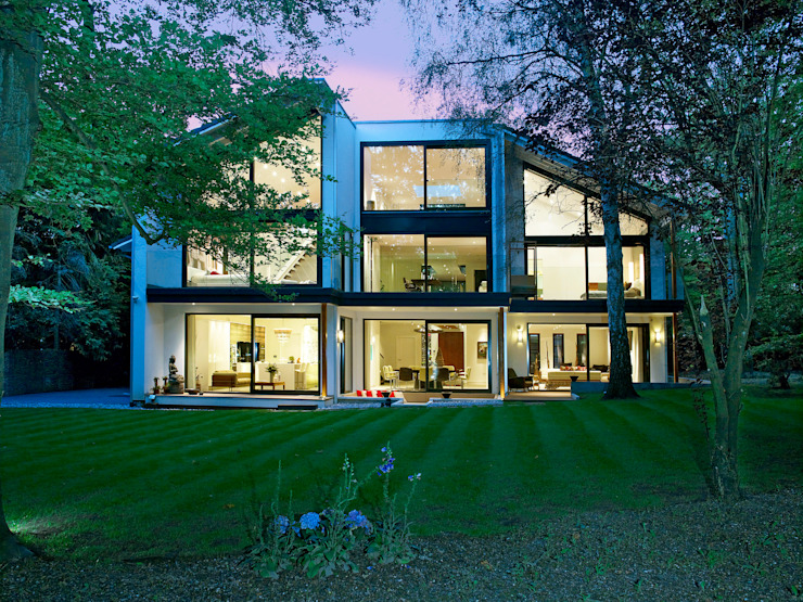 Exteriors Modern home by Baufritz (UK) Ltd. Modern