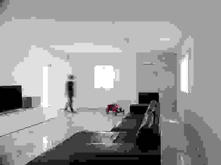 Casa 2x1 Massimo Galeotti Architetto Soggiorno moderno