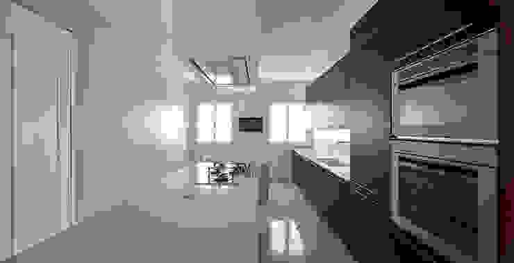 Casa 2x1 Massimo Galeotti Architetto Cucina moderna