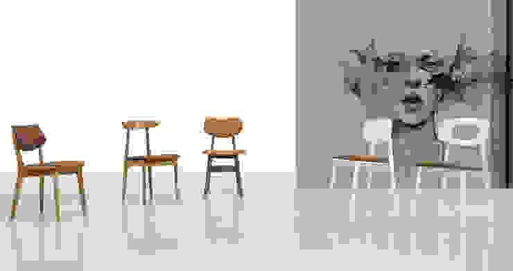 Wood meets Cork por Fenabel-The heart of seating Minimalista Madeira Acabamento em madeira