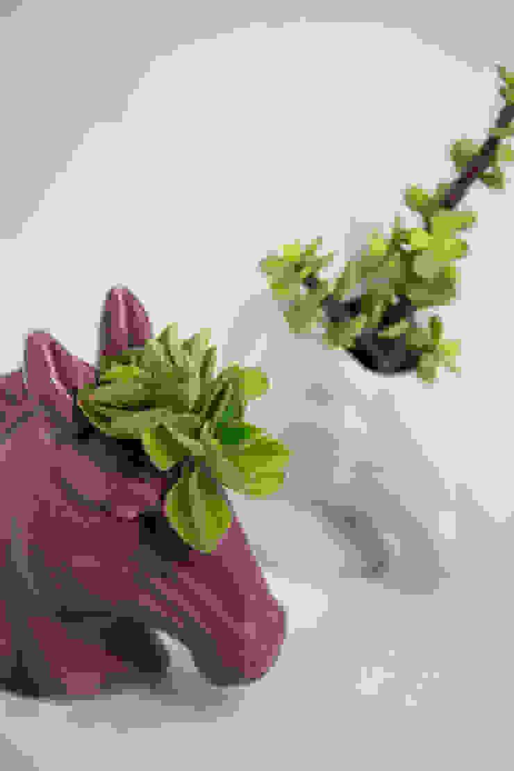 Unicornio Maceta de FRIDA ceramica Ecléctico