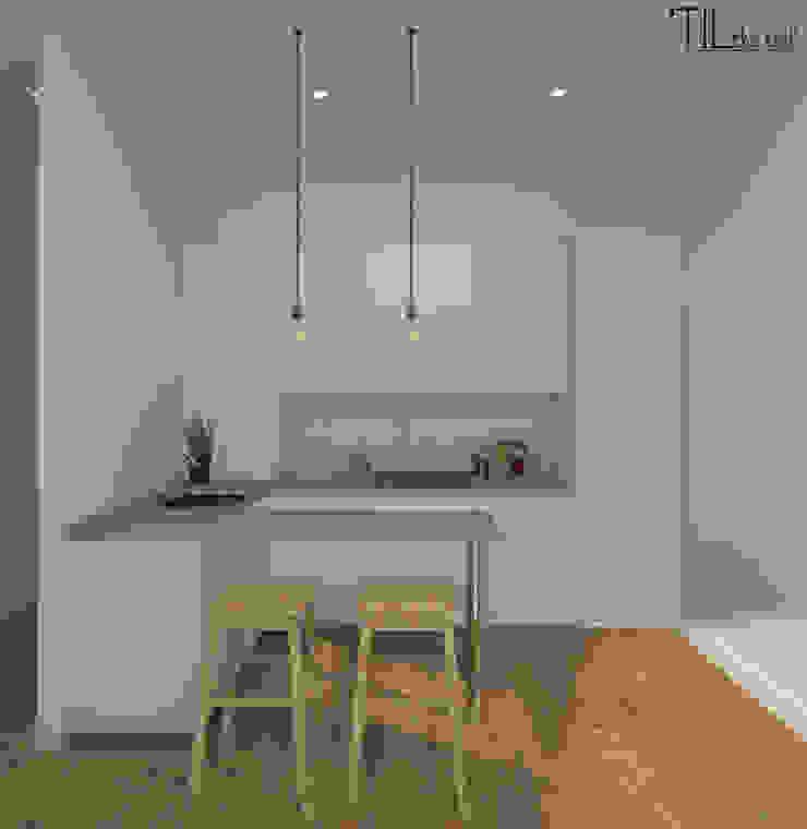 Apartment in Belém, Lisbon Salas de estar escandinavas por Lagom studio Escandinavo