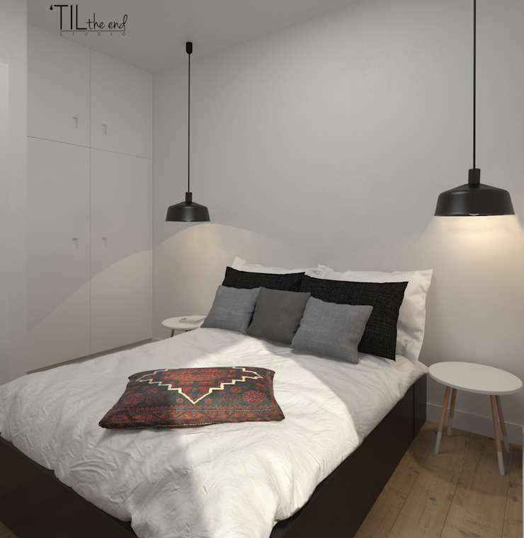 Apartment in Belém, Lisbon Quartos escandinavos por Lagom studio Escandinavo
