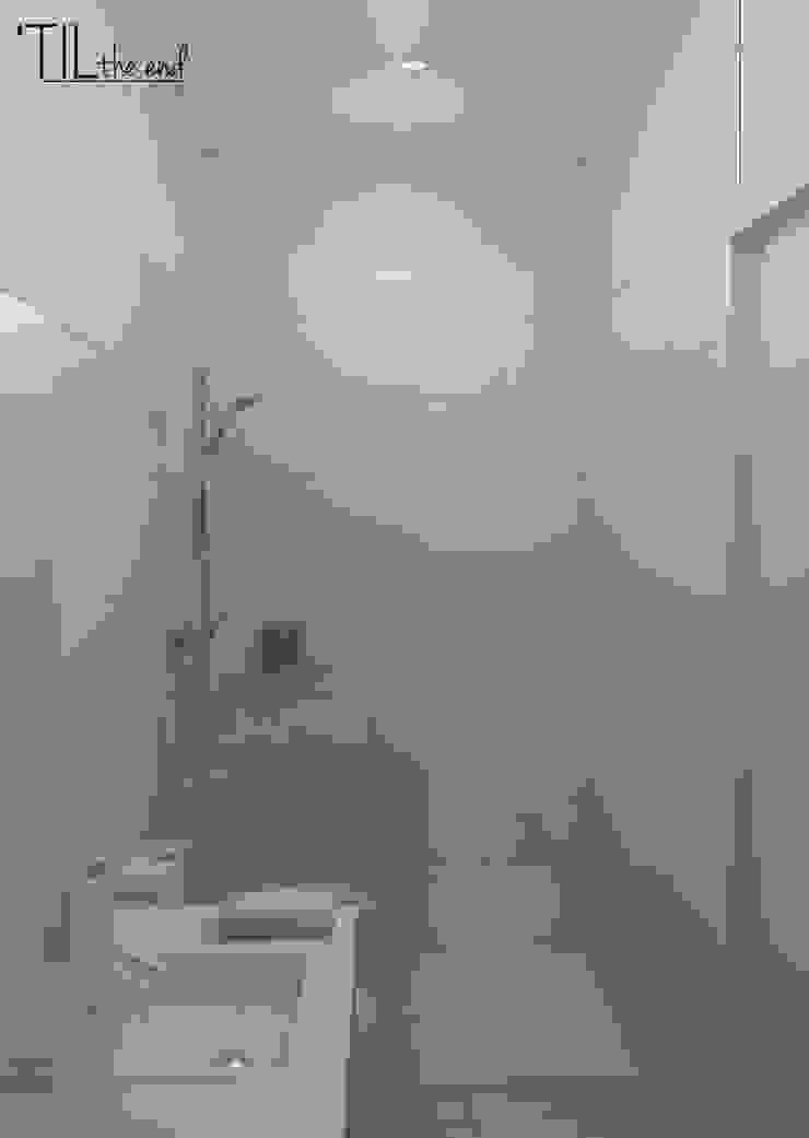 Apartment in Belém, Lisbon Casas de banho minimalistas por Lagom studio Minimalista