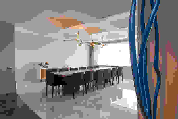 Hansi Arquitectura Modern dining room