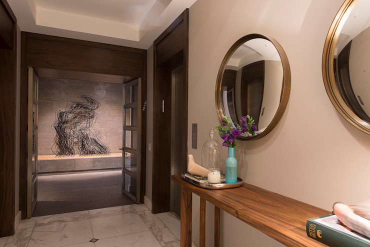 Hansi Arquitectura Modern Corridor, Hallway and Staircase