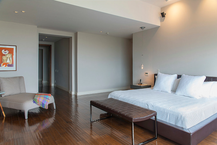 Hansi Arquitectura Modern style bedroom