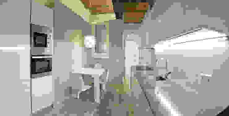 Restauración de elementos arquitectónicos Cocinas de estilo minimalista de Torres Estudio Arquitectura Interior Minimalista