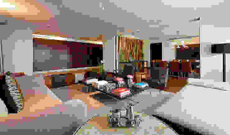 Salones de estilo moderno de Hansi Arquitectura Moderno