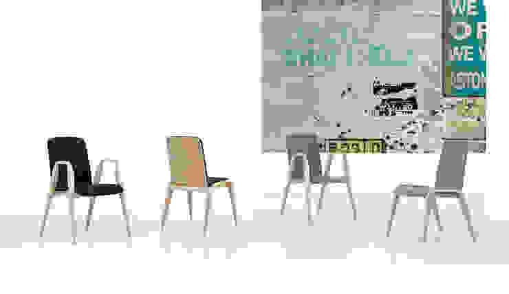 Take Me Collection por Fenabel-The heart of seating Moderno Madeira Acabamento em madeira