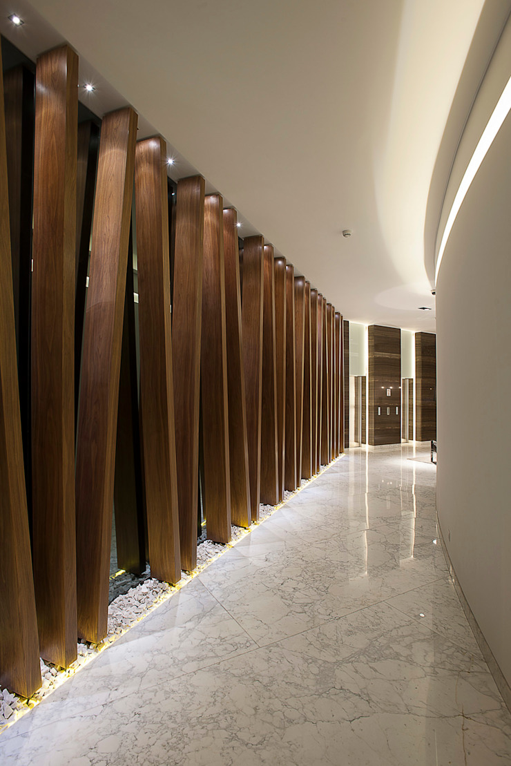 Hansi Arquitectura Modern Walls and Floors