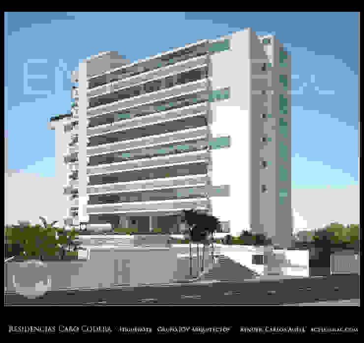 Minimalist house by Grupo JOV Arquitectos Minimalist Marble