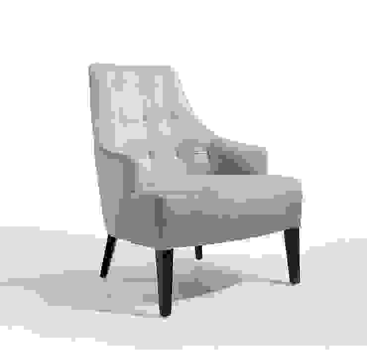 Dakota Lounge Hotéis modernos por Fenabel-The heart of seating Moderno Madeira Acabamento em madeira