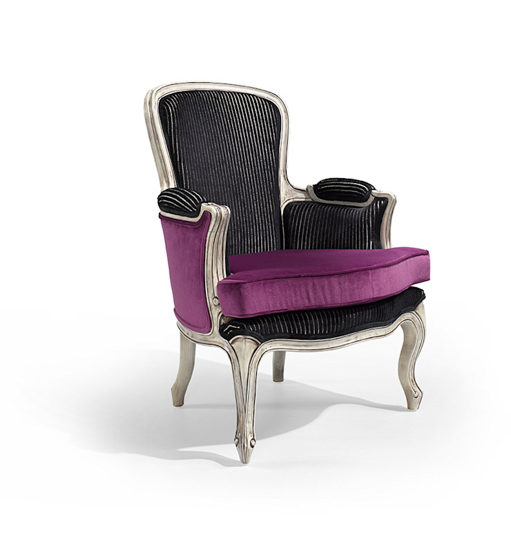 Meteor Mass Hotéis modernos por Fenabel-The heart of seating Moderno Madeira Acabamento em madeira