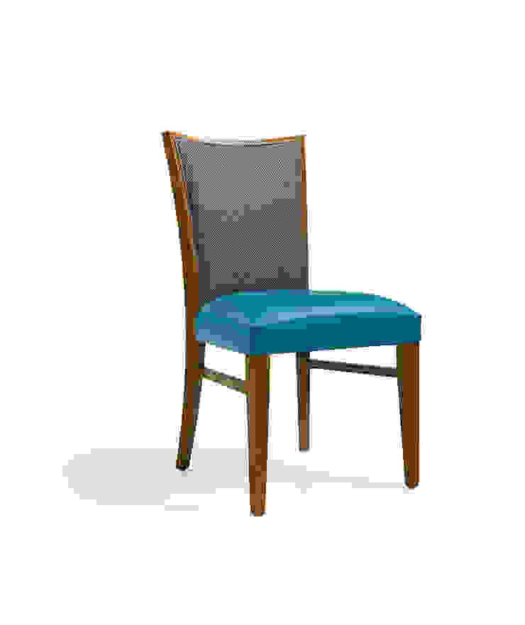 Rachel Hotéis modernos por Fenabel-The heart of seating Moderno Madeira Acabamento em madeira