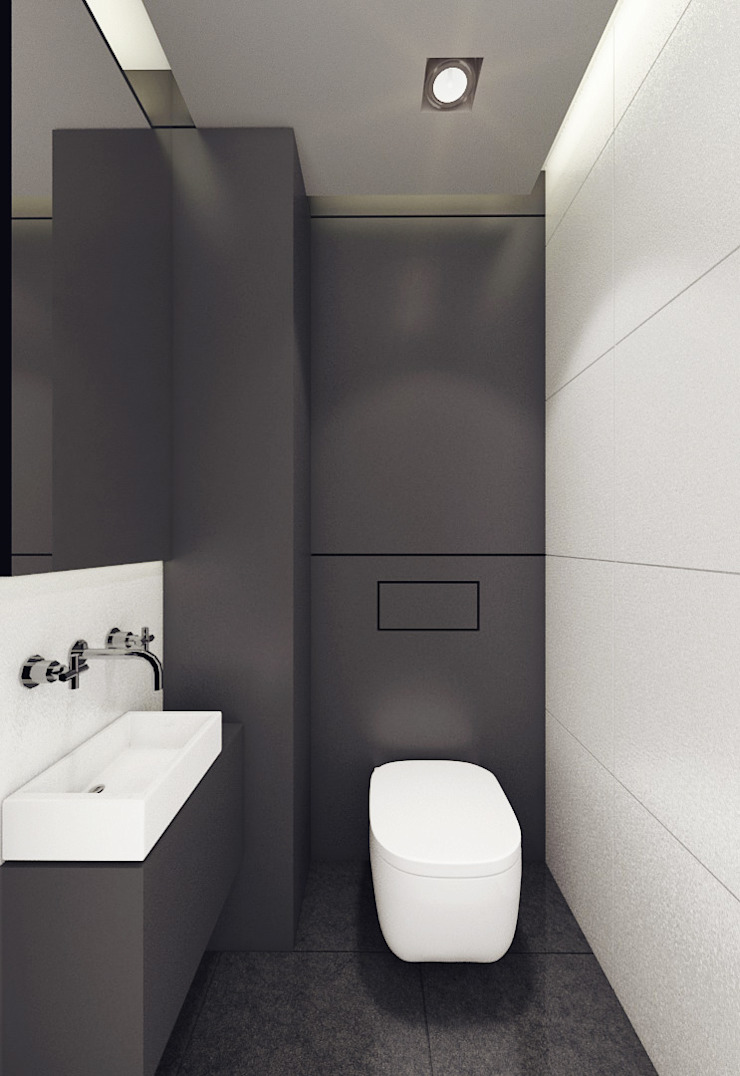 에클레틱 욕실 by 3miasto design 에클레틱 (Eclectic)