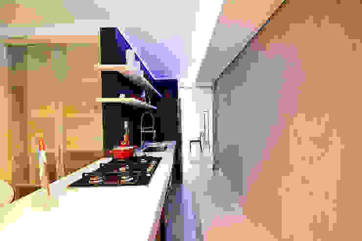 Clinica de Nutrição Cozinhas minimalistas por Arquitetura 1 Minimalista Concreto