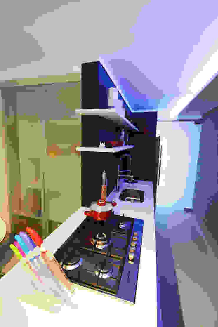 Clinica ZN Cozinhas minimalistas por Arquitetura 1 Minimalista Granito