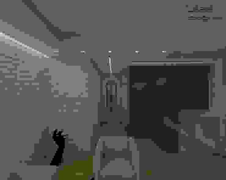 Salas de estilo  por RDstudioarchitettura - daniele russo architetto