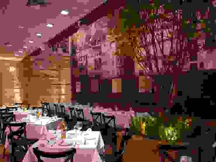 Restaurante Trindade Espaços gastronômicos modernos por Toninho Noronha Arquitetura Moderno