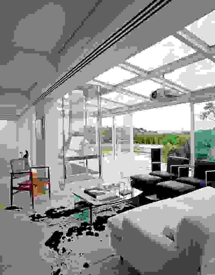 Cobertura Morumbi Varandas, alpendres e terraços modernos por Toninho Noronha Arquitetura Moderno