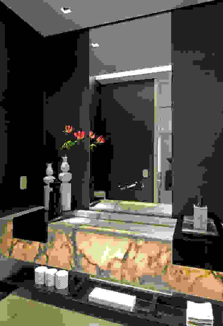 apartamento jardins Banheiros modernos por Toninho Noronha Arquitetura Moderno