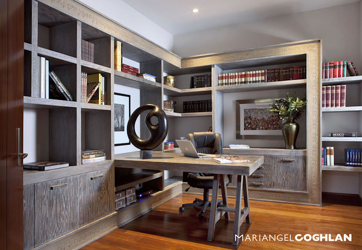 MARIANGEL COGHLAN Modern Study Room and Home Office