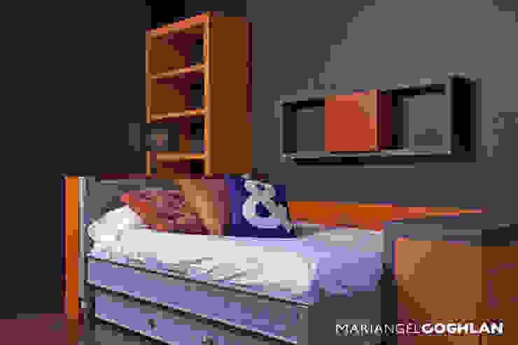 Recámara niño Dormitorios infantiles de estilo moderno de MARIANGEL COGHLAN Moderno
