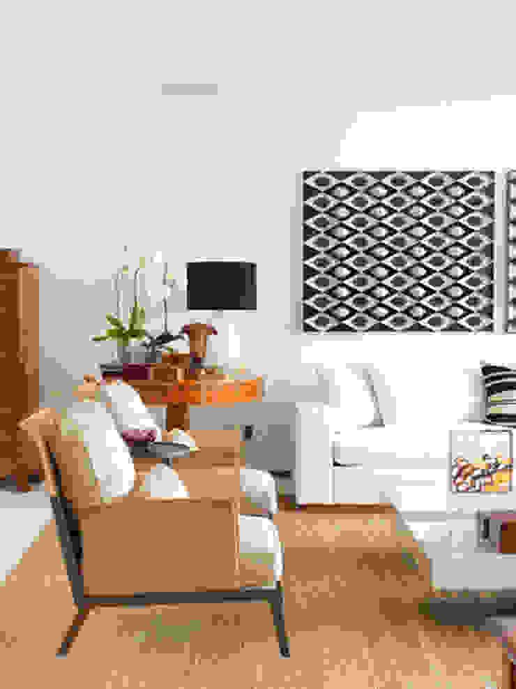Apartamento VNC 4 Salas de estar modernas por Toninho Noronha Arquitetura Moderno
