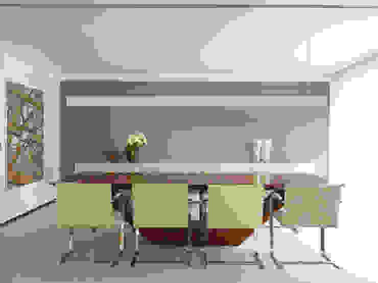 Apartamento VNC 4 Salas de jantar modernas por Toninho Noronha Arquitetura Moderno
