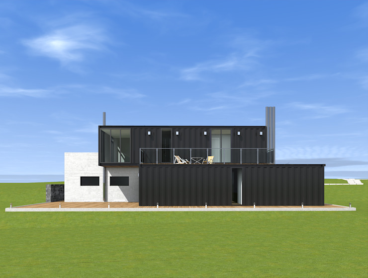 CHM architect Industrial style houses