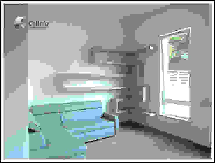 Półki w salonie od Cellaio Klasyczny